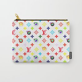 Takashi Murakami LV Collaboration Vuitton Carry-All Pouch
