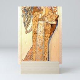 Alphonse Maria Mucha - Poster for 'Gismonda' Mini Art Print