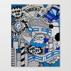 Livin' For The City Canvas Print