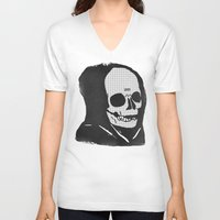 chill V-neck T-shirts featuring chill death by Alex DeSpain