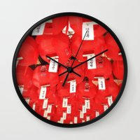 lantern Wall Clocks featuring Lantern by strentse