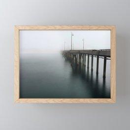 Venice Beach Pier Framed Mini Art Print