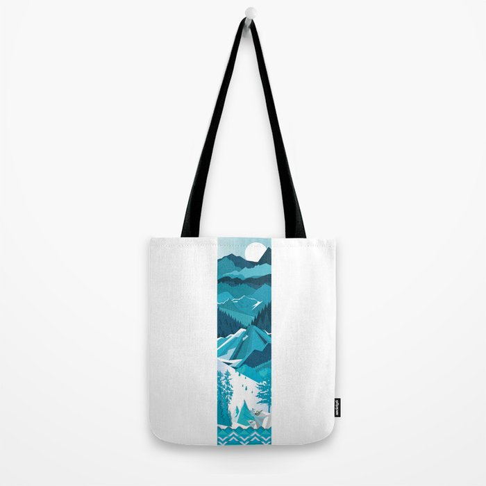 In The Ice Cold North Tote Bag