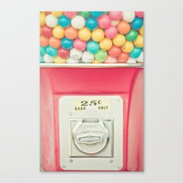 Rainbow Bubblegum Canvas Print