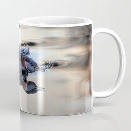 Grebe Torpedo - Red-necked Grebe Coffee Mug