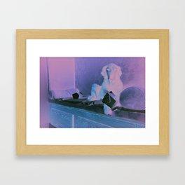 Moochi Framed Art Print