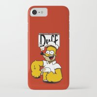 popeye iPhone & iPod Cases featuring Homer-Popeye by le.duc