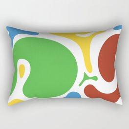 Spot colors Rectangular Pillow