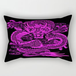 Epic Dragon Purple Rectangular Pillow