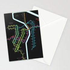 Rail Transit of Portland, Oregon Stationery Cards
