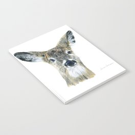 Doe Eyes by Teresa Thompson Notebook