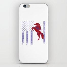 Horseriding Flag iPhone Skin