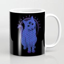 Trippy Cat: 4 Coffee Mug