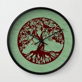 Tree of Life 3 Wall Clock