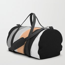 River sand , abstract , striped Duffle Bag
