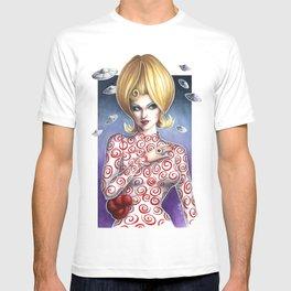Mars Attacks Martian Girl T-shirt