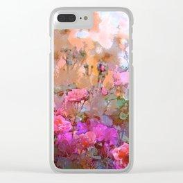 Rose 236 Clear iPhone Case