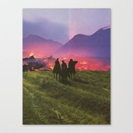 Three Riders Canvas Print