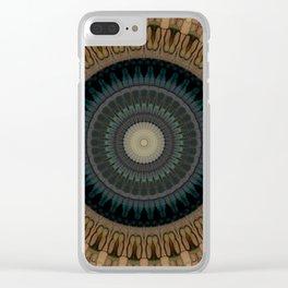 Recreational Maylanta Mandala 42 Clear iPhone Case