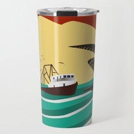 Portosín, Galicia Travel Mug