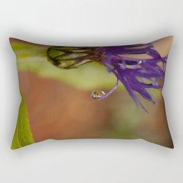 Early Morning Rain Drop Rectangular Pillow