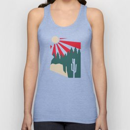 Arizona is for the Outdoors Unisex Tank Top