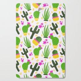 Cactus Pattern of Succulents Cutting Board