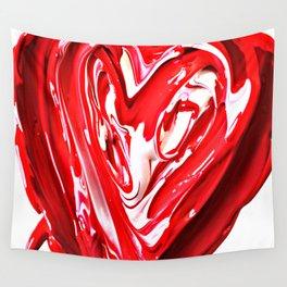 Gooey Heart Wall Tapestry