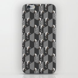 Cubicles Pattern iPhone Skin