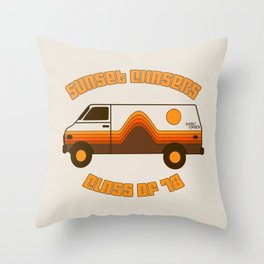 Sunset Chaser Throw Pillow
