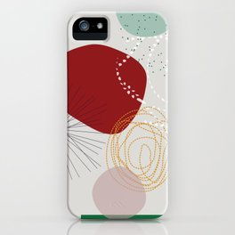 modern abstract VI iPhone Case