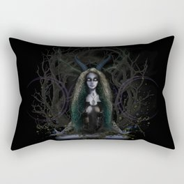 Earth Witch - Elements Collection Rectangular Pillow