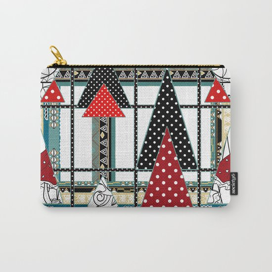 Art. Morning Fantasies . Patchwork Carry-All Pouch