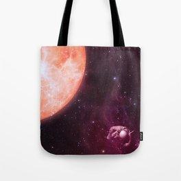 Drifting Astronaut  Tote Bag