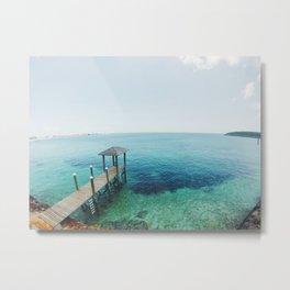 Bahamas Clear Water Metal Print