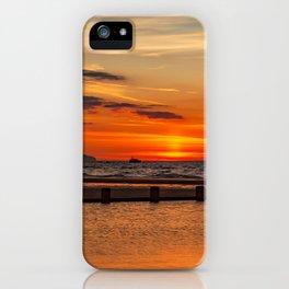 Sunset Seascape iPhone Case