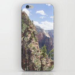 Angels Landing at Zion National Park iPhone Skin