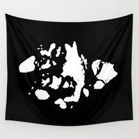 jamaica Wall Tapestries featuring Islands of Jamaica Bay by Brooklyn Cartografix