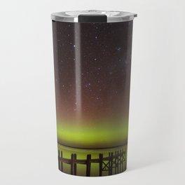 Aurora Boreal Lakeside Travel Mug