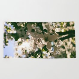 spring is inspiration Beach Towel