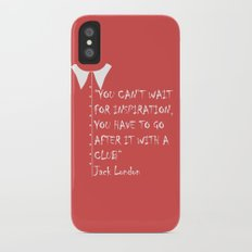 QUOTE-2 iPhone X Slim Case