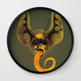 Bat Tongue Wall Clock