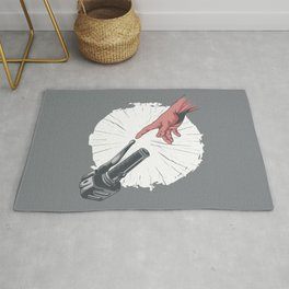 Creation Of Adam Motorcycle Rug