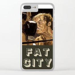 Fat City Clear iPhone Case
