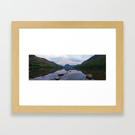 Lake Buttermere, English Lake District Framed Art Print