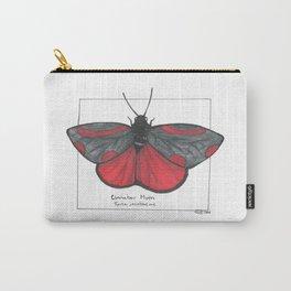 Cinnabar Moth Carry-All Pouch