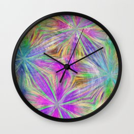 Party Lights Wall Clock