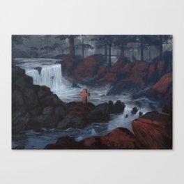 You are alone Canvas Print