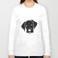 labrador Long Sleeve T-shirts featuring Labrador by anabelledubois