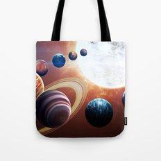 Planets Road Trip Tote Bag